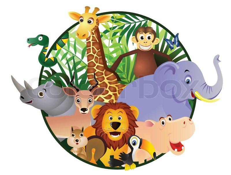 800x607 Jungle Clipart Safari Park