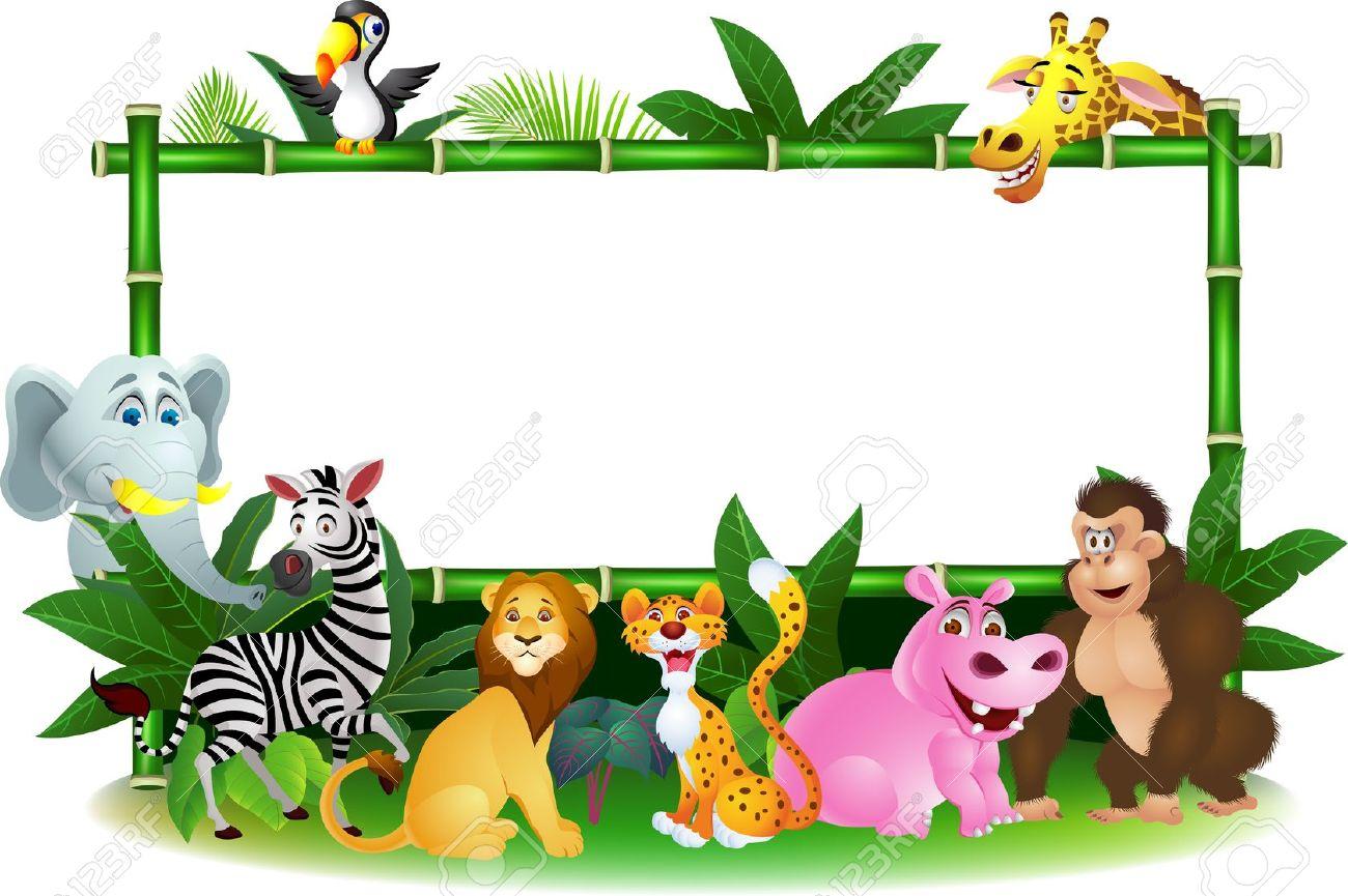 1300x865 Mammal Clipart Jungle Safari