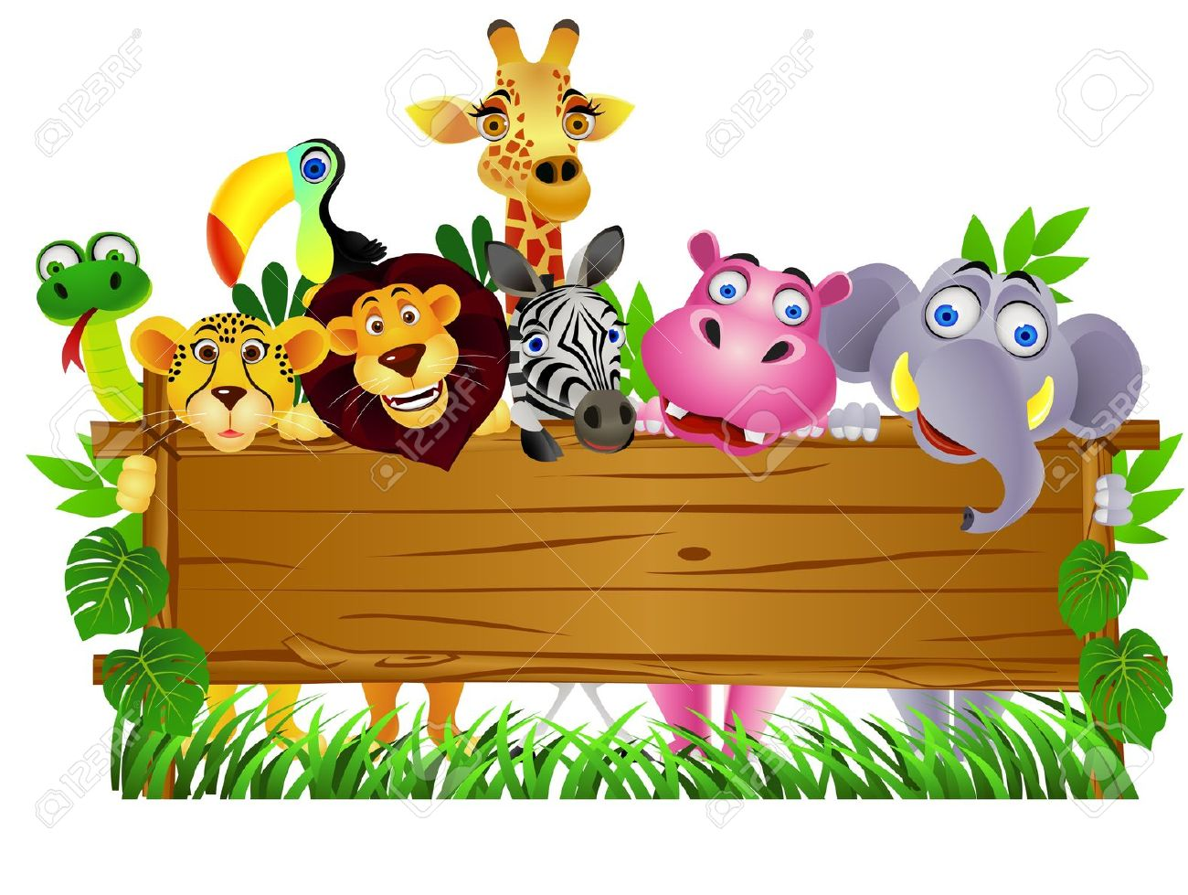1300x979 Jungle Animal Clipart