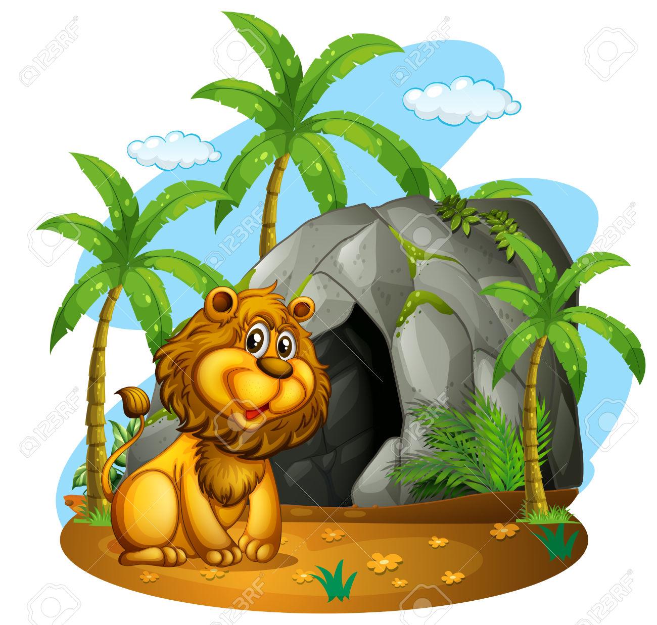 1300x1237 Cave Clipart Jungle