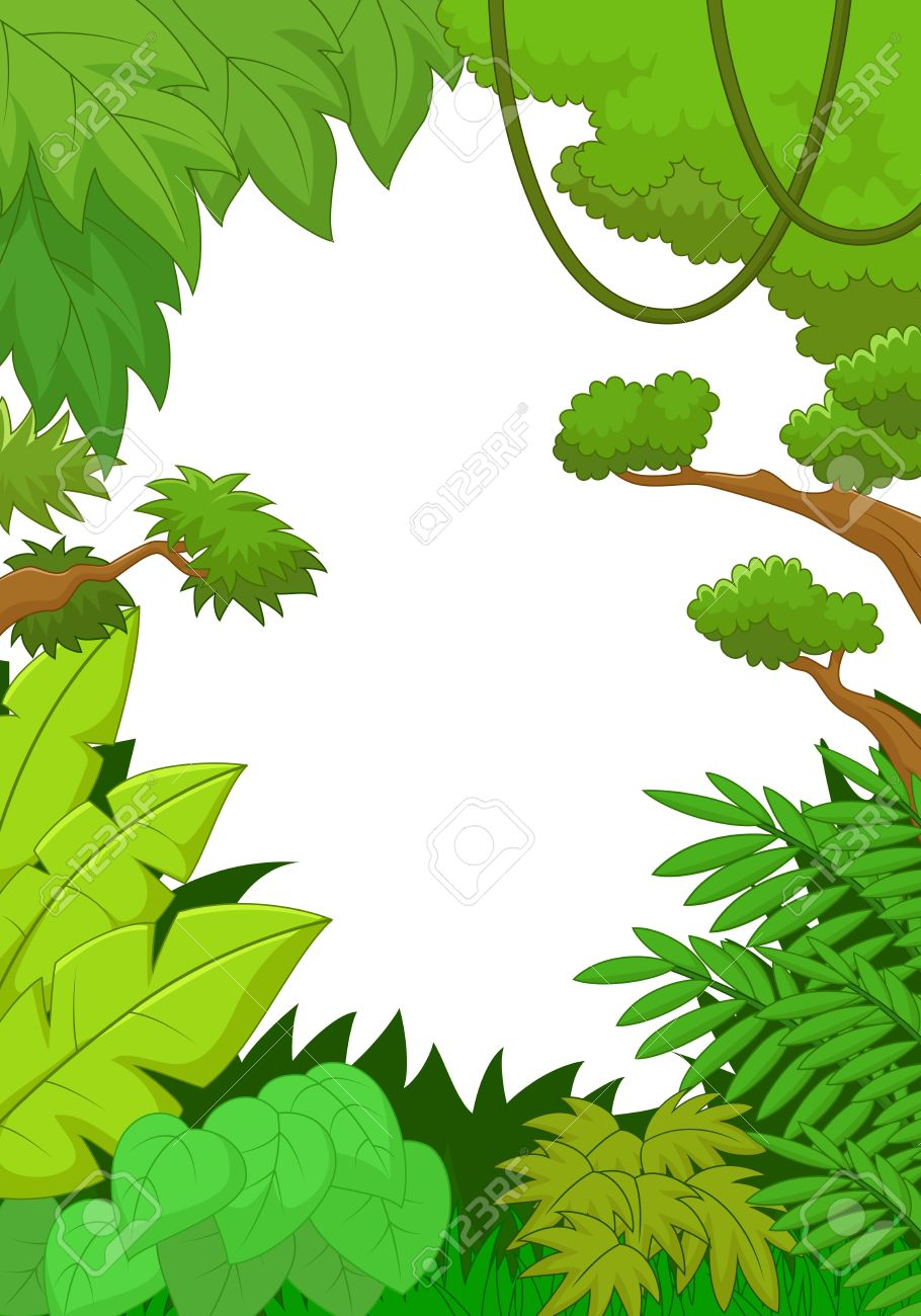 910x1300 Foliage Clipart Jungle Background