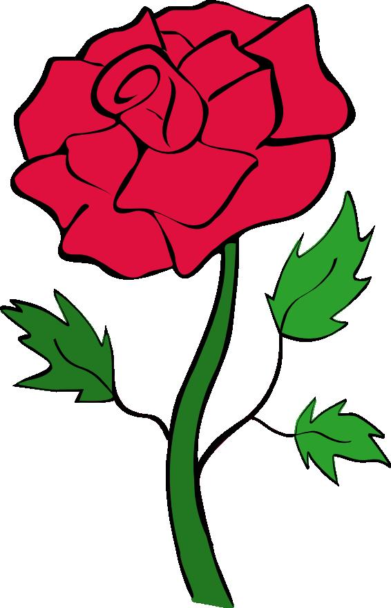 566x880 Blue Rose Clipart Jungle Flower
