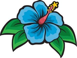 300x225 Caribbean Clipart Jungle Flower