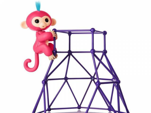 640x480 Fingerlings Jungle Gym Playset And Aimee In Stock