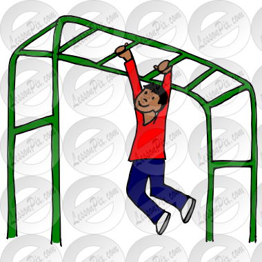 380x380 Monkey Bars Clipart