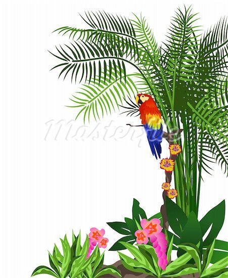 451x550 Jungle Trees Clip Art Rainforest Leaves Clip Art Bible School