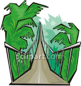 285x300 Bridge Clipart Jungle