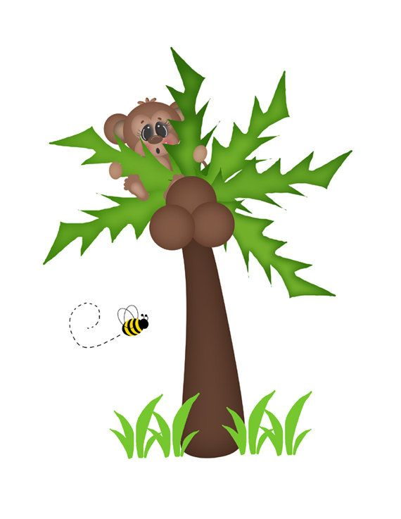 Jungle Trees Clipart | Free download on ClipArtMag