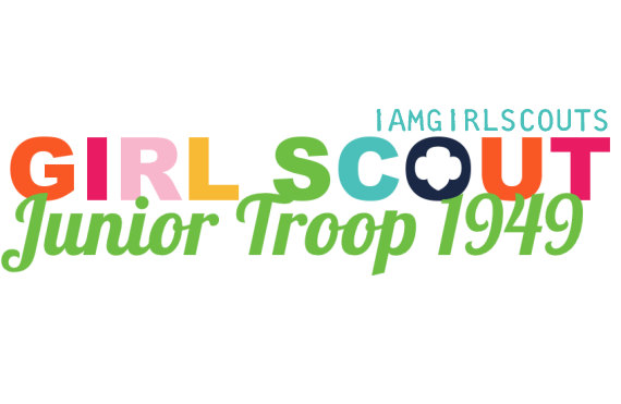 570x371 Personalized Girl Scout Junior Troop Logo