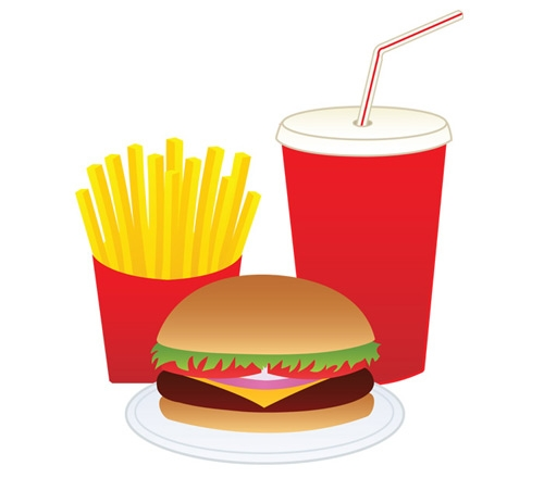 500x440 Free Junk Food Clipart