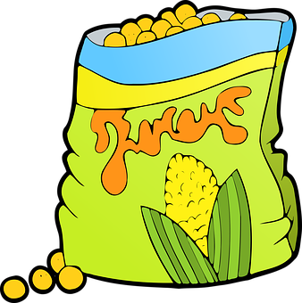 338x340 Chips Clipart Junk Food