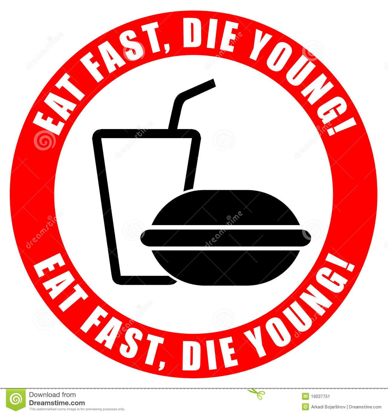 1300x1390 Clip Art Say No Junk Food Clipart
