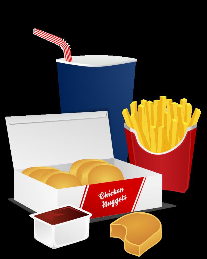 720x900 Fast Food Clipart