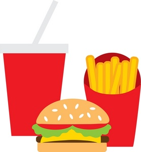 278x300 Meal Clipart Junk Food