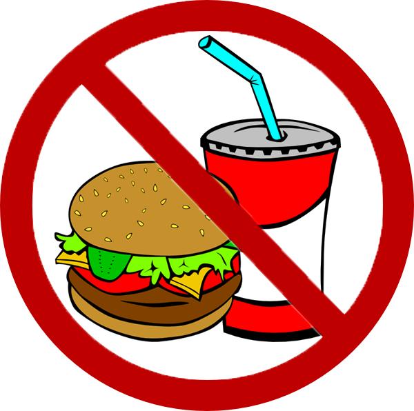 600x596 Avoid Junk Food Clipart