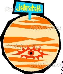 257x300 Planet Jupiter Vector Clip Art