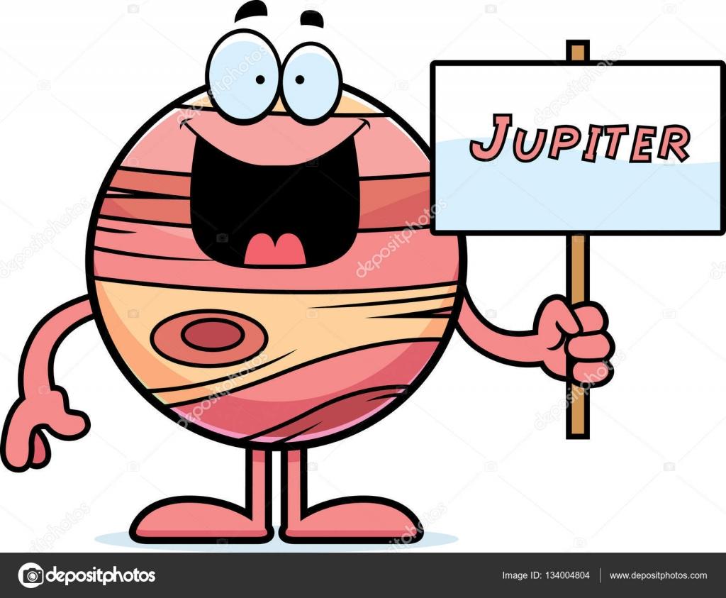 1024x843 Cartoon Jupiter Sign Stock Vector Cthoman