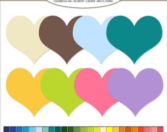 340x270 Clip Art Paint Stroke Paint Brush Digital Illustraions In 50