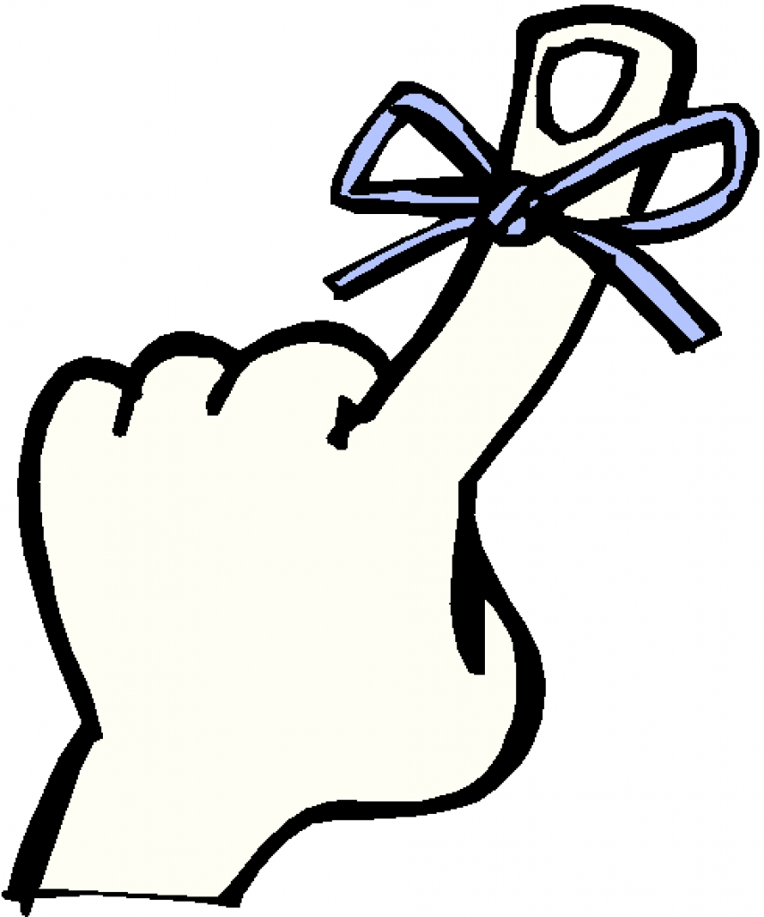 854x1024 Reminder Clipart Remember Finger With String
