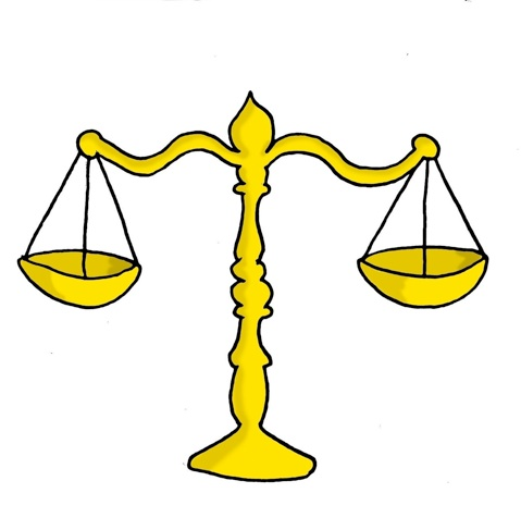 479x487 Justice Scales Clipart Clipartfest