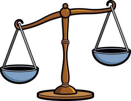 450x346 Nice Scales Of Justice Clip Art