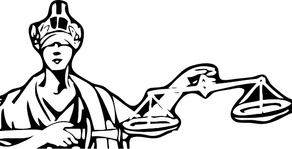 600x306 Blind Justice Clip Art Free Vector In Open Office Drawing Svg