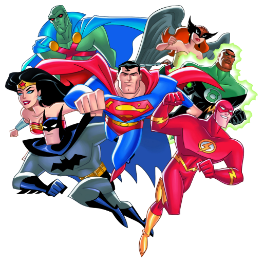512x512 Justice League Clipart Justice League Tv Fanart Fanarttv Cute