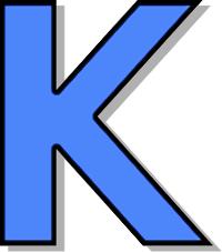 200x227 Capitol K Blue Clip Art Download