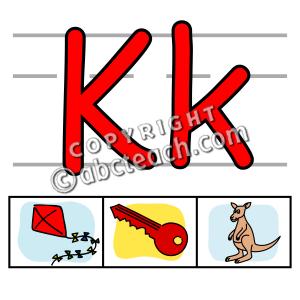 300x300 Lettering Clipart Letter K