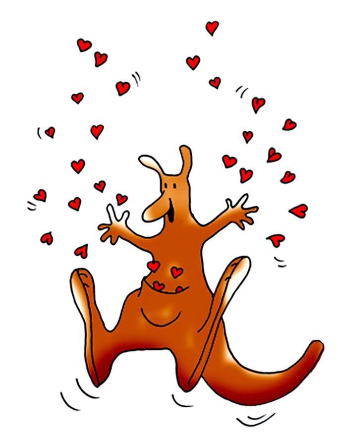 682x886 Kangaroo Clip Art Kangaroo Clipart Fans