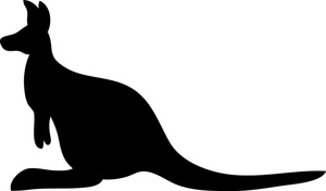 300x176 Free Free Kangaroo Clip Art Image 0515 1006 2405 3557 Animal Clipart