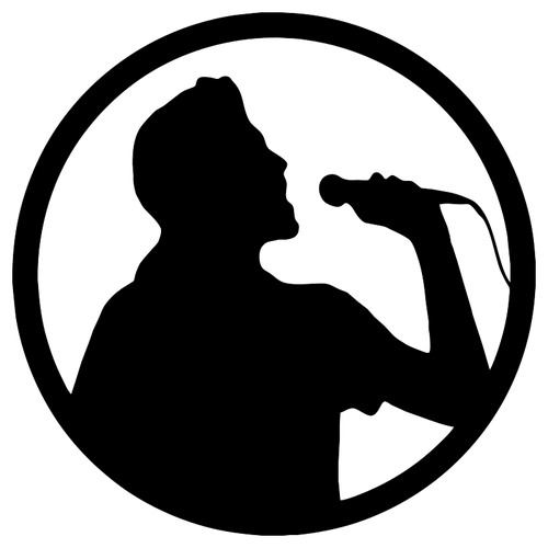 500x500 Karaoke Icon Vector Image Public Domain Vectors