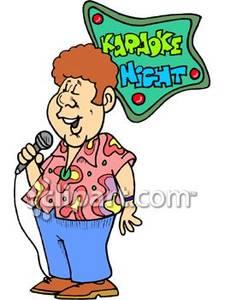 225x300 Punk Clipart Karaoke Singer