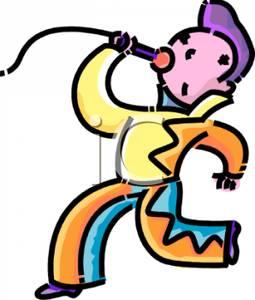 255x300 Boy Clip Art Of Singing Karaoke Cliparts