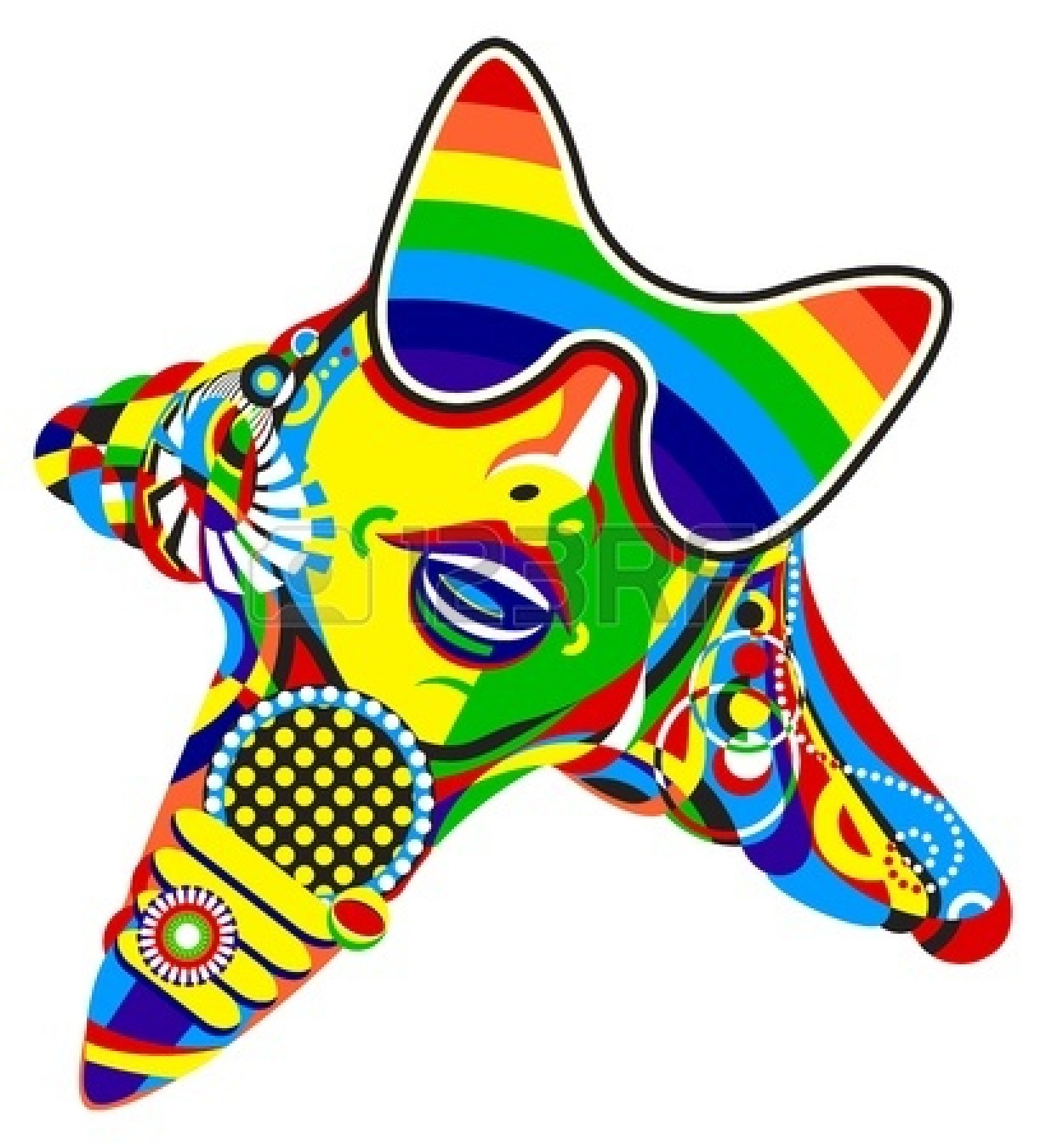 1230x1350 Stardom Clipart 17070117 Pop Star Print