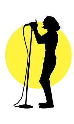 240x400 Karaoke Night Clipart