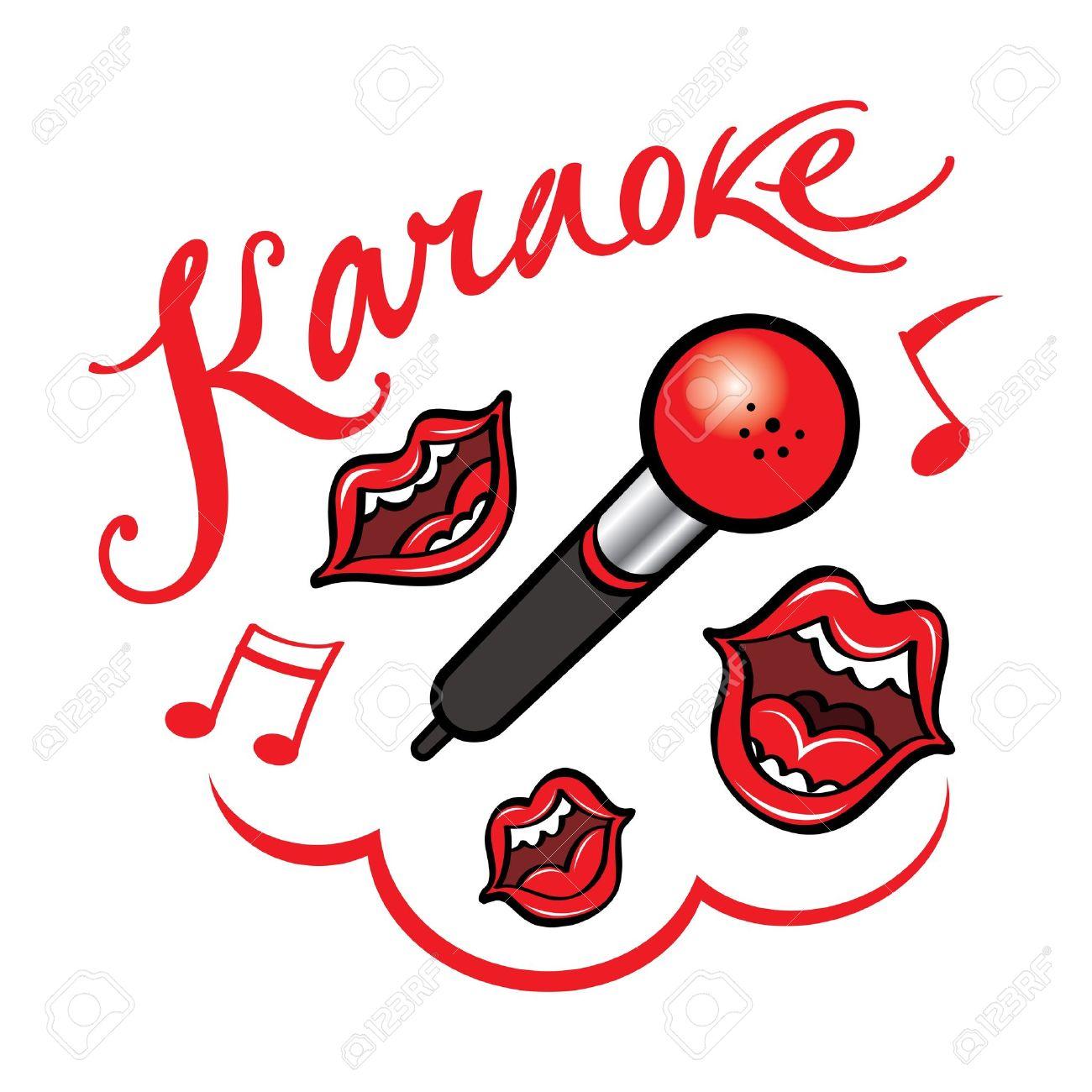 1300x1300 Karaoke Singing Song Fun Bar Restaurant Leisure Royalty Free