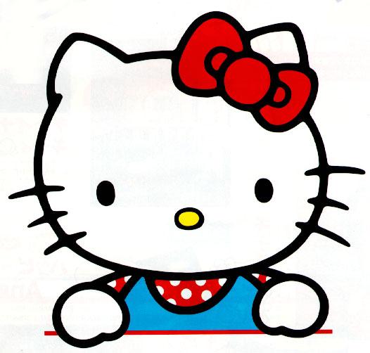 526x502 Hello! Clipart Kity