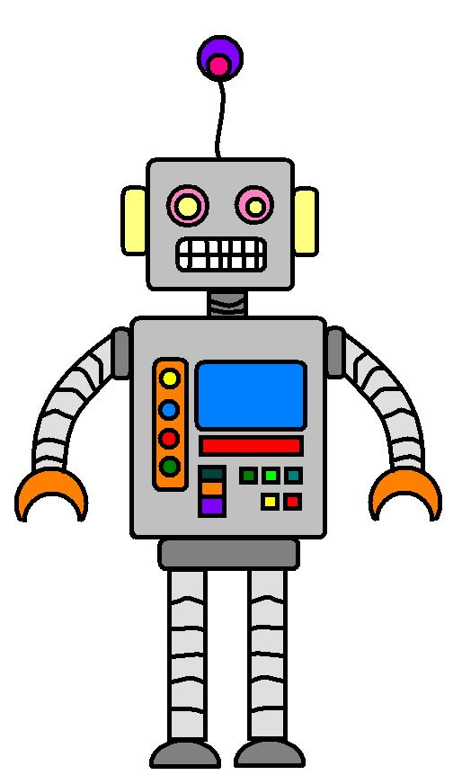504x862 Robot Clipart For Your Project Or Classroom. Description