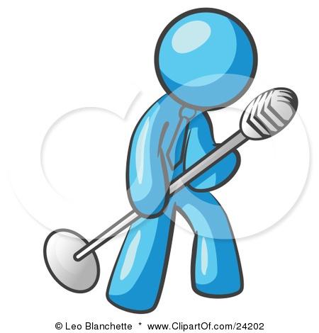 Karaoke Singer Clipart