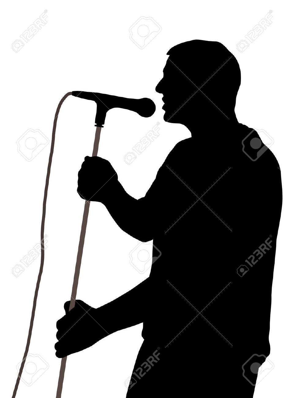 1006x1300 Shadows Clipart Singer