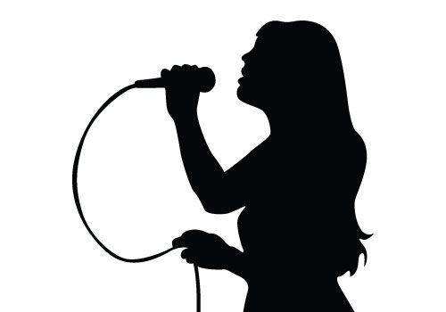 500x350 Singer Clipart Karaoke