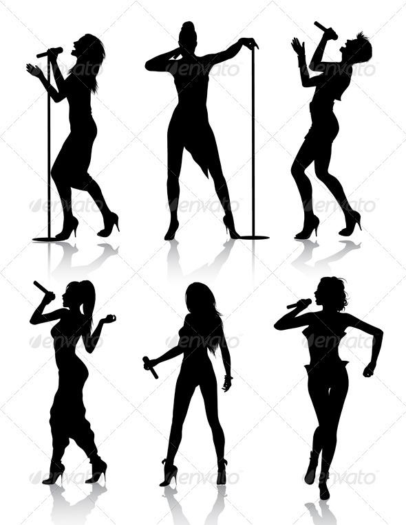 590x764 Singer Clipart Karaoke Party