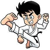 170x170 Karate Clip Art