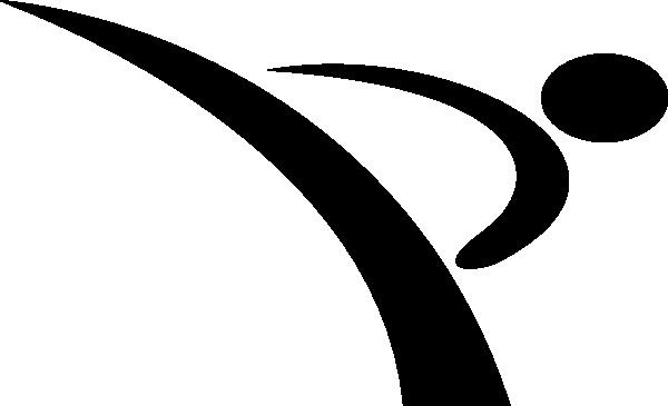 600x365 Karate Logo Clip Art Free Vector 4vector