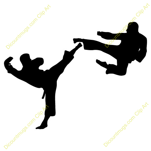 500x500 Fight Clipart Karate