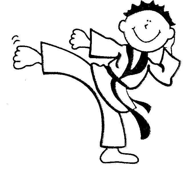 Karate Kid Clipart