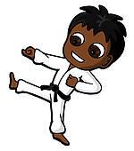 150x170 Karate Kid Clip Art