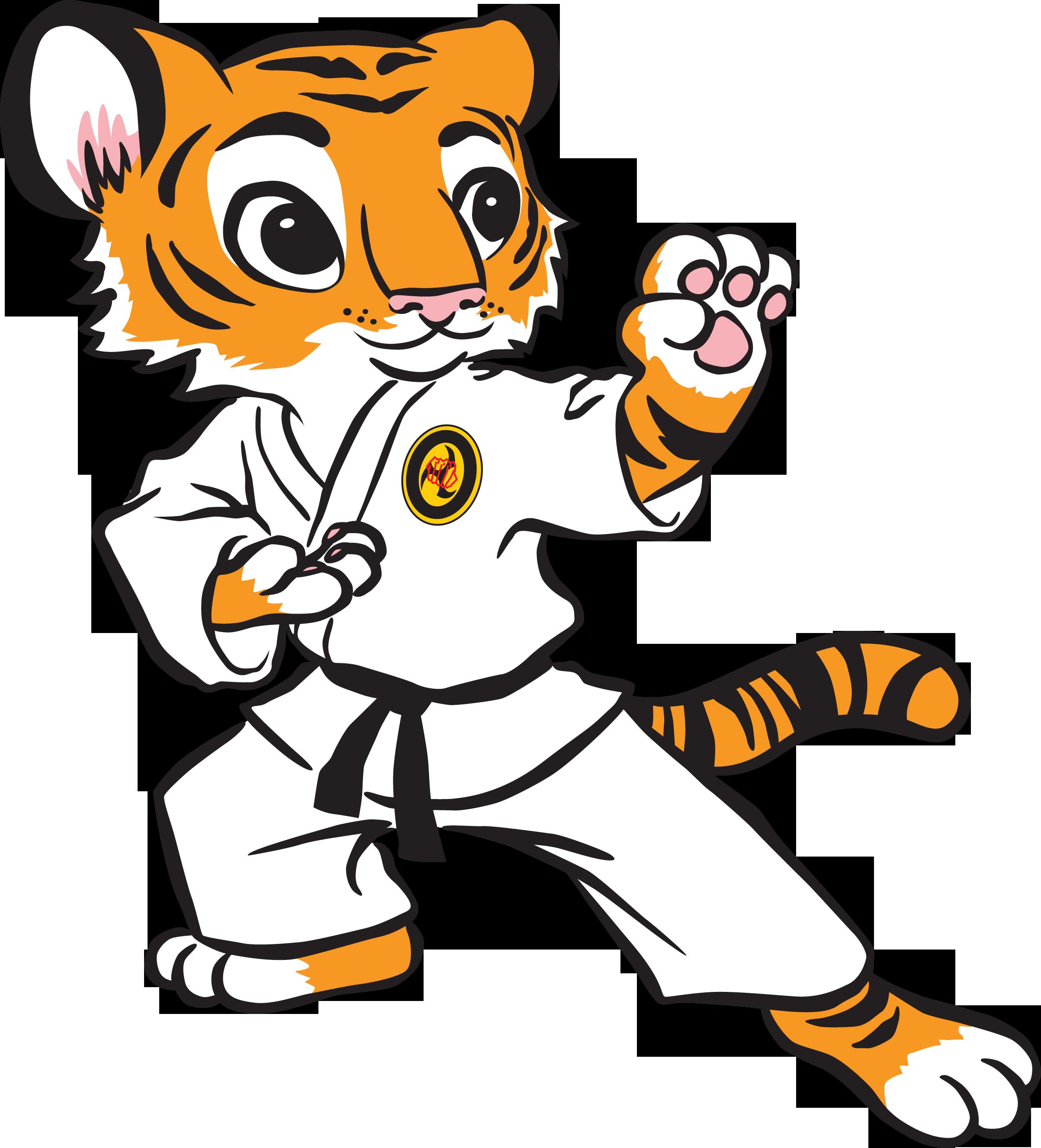 2406x2655 Karate Tiger Clipart Clipart Kid