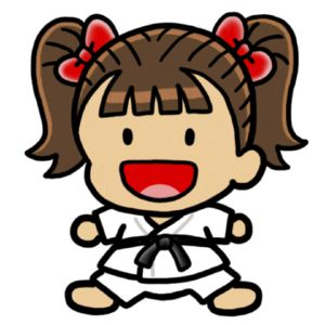 300x300 Karate Break Clipart Kid